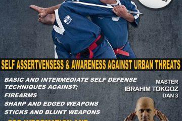 סמינר הגנה עצמית בטורקיה Self Defense seminar in Turkey